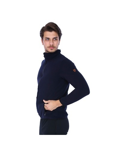Sportive Polar Sweatshirt Lacivert